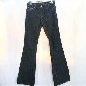 David Kahn Slim Dark Wash Bootcut 1003 Jeans, 26